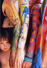 art de revivre : la fête c'est aussi le body art et la peinture de corps