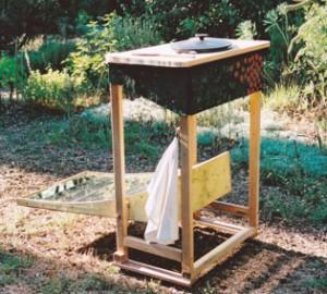Jardin d'Aujargues - cuisinière solaire