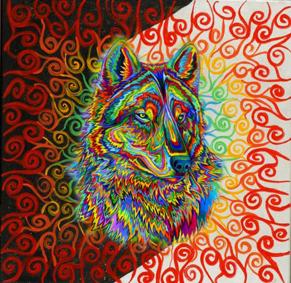 Poésie du Vivant - Le loup de nos coeurs